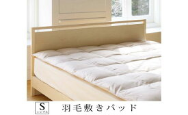 【ふるさと納税】ダウンパッド(シングル)100cm×200cm