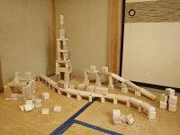 【ふるさと納税】ヒノキ・スギ積み木セット(150個入)