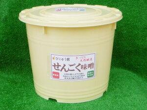 【ふるさと納税】手作り「せんごく味噌」3kg