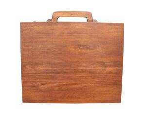 【ふるさと納税】No.095 おしゃれなあなたに木製アタッシュケース
