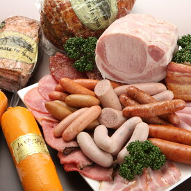 【ふるさと納税】【富士山麓からの贈り物】山中湖ハムの至粋セット7種盛 ドイツ国際食肉加工コンテストで金賞受賞