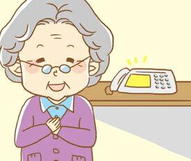 【ふるさと納税】No.050 郵便局のみまもりサービス「みまもりでんわサービス(固定電話3か月)」