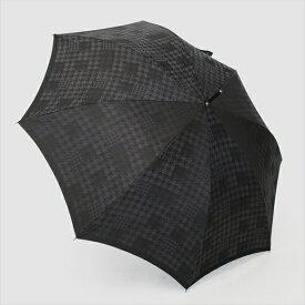 【ふるさと納税】槙田商店【紳士晴雨兼用】長傘 monotone 千鳥チェック