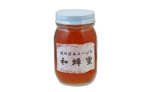 【ふるさと納税】024-003信州日本みつばち 幻の蜂蜜2年物(600g)