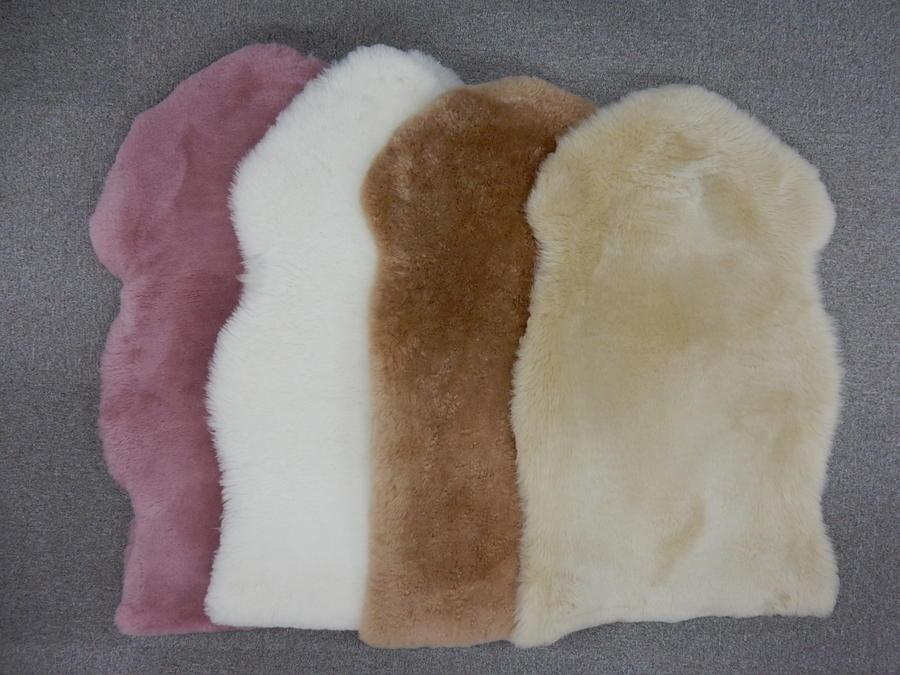 【ふるさと納税】055-001ムートン(羊毛皮)一匹物 毛長35mm
