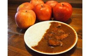 【ふるさと納税】 05-01 諏訪産のりんご使用 超高級ビーフカレー8個セット/黄金マッハカレー