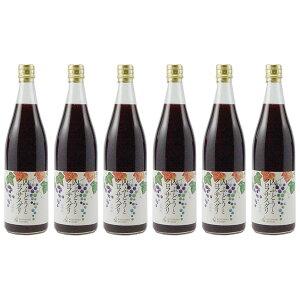 【ふるさと納税】ノンアルコール飲料 山ぶどうとカシス6本セット 【果実飲料・ジュース・ブドウ・葡萄・詰め合わせ】
