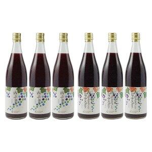 【ふるさと納税】ノンアルコール飲料2種6本(山ぶどう、カシス)セット 【果実飲料・ジュース・飲料類・果汁飲料・ぶどうジュース・ブドウ・葡萄・詰め合わせ】