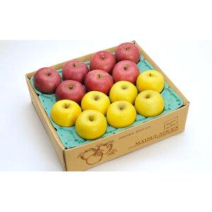 【ふるさと納税】サンふじ・シナノゴールド詰合せ 約5kg 【果物・フルーツ・林檎・りんご・リンゴ・セット】 お届け:2019年12月1日〜2020年2月28日まで