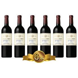 【ふるさと納税】マンズワイン ソラリス信州千曲川産メルロー 750ml×6本 【ワイン・お酒・赤ワイン】