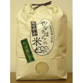 【ふるさと納税】特別栽培米「風さやか」2kg×2袋【 白米 長野県 飯山市 】