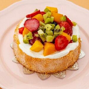 【ふるさと納税】フルーツたっぷりアニバーサリーケーキ(犬用) 【加工品・惣菜・冷凍】