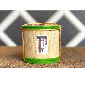 【ふるさと納税】杉木桶で仕込み熟成した味噌杉樽仕込み 木桶入 3kg 【米味噌・味噌】