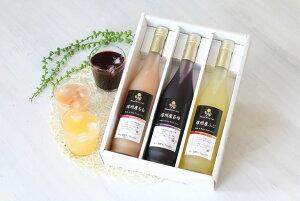 【ふるさと納税】信州産くだもの果汁100%ジュース500ml×3本セット人気のりんご・桃・ぶどうセット(通年提供可)