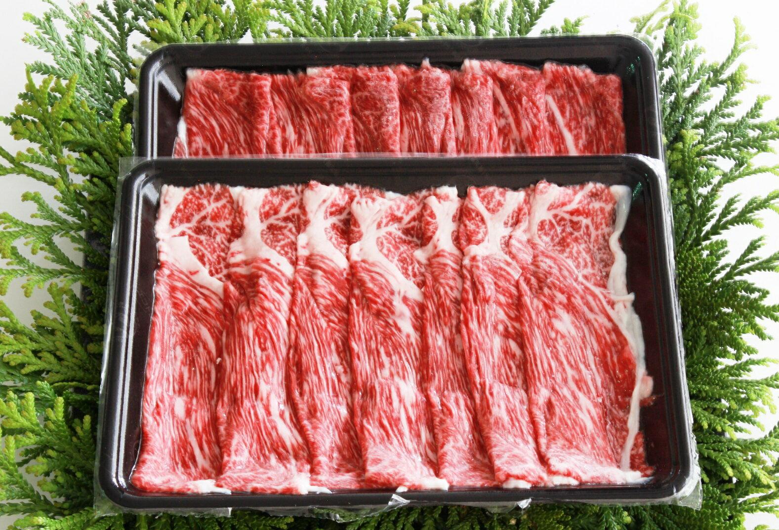 【ふるさと納税 長野】麻績産極上黒毛和牛ウデすき焼き用400g×2パック
