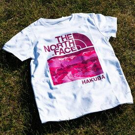 【ふるさと納税】B014-11 THE NORTH FACE 白馬オリジナルTシャツ ウィメンズ ホワイト Lサイズ (2019モデル)