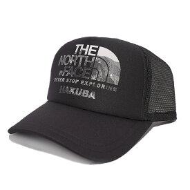 【ふるさと納税】B012-03 THE NORTH FACE 白馬オリジナルキャップ  ブラック