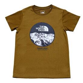 【ふるさと納税】B014-11 THE NORTH FACE 白馬オリジナルTシャツ メンズ オリーブ Lサイズ