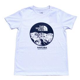 【ふるさと納税】B014-11 THE NORTH FACE 白馬オリジナルTシャツ メンズ ホワイト Lサイズ