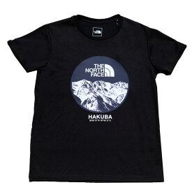 【ふるさと納税】B014-11 THE NORTH FACE 白馬オリジナルTシャツ メンズ ブラック XLサイズ