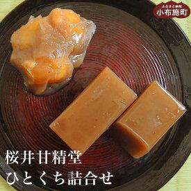 【ふるさと納税】桜井甘精堂 ひとくち詰合せ