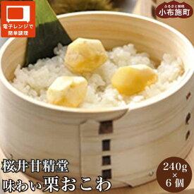 【ふるさと納税】桜井甘精堂 味わい栗おこわ