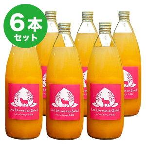 【ふるさと納税】新規就農者応援コース 黄金桃と白桃のジュース1000ml(6本入)