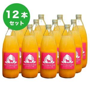 【ふるさと納税】新規就農者応援コース 黄金桃と白桃のジュース1000ml(12本入)
