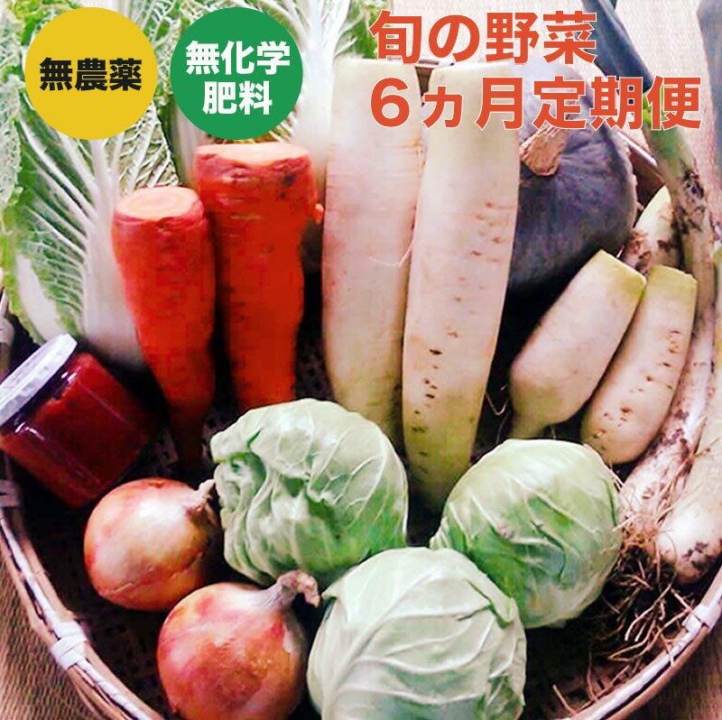 【ふるさと納税】新規就農者応援コース 小布施めぐる野菜セット 6ヶ月定期便