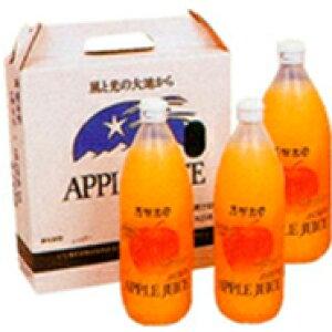 【ふるさと納税】サンふじ100%ジュース3本セット 【果実ジュース・りんご】