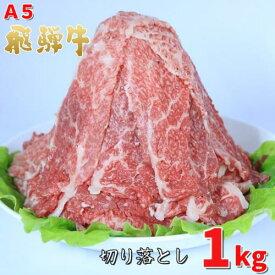 【ふるさと納税】A5飛騨牛切り落とし 1.0kg