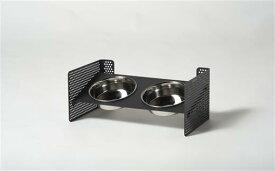 【ふるさと納税】【petokku】高さ・角度調節可 犬・猫用 ステンレス製食器 組み立て式(工具同梱)『DISH STAND』(ペット用食器スタンド)
