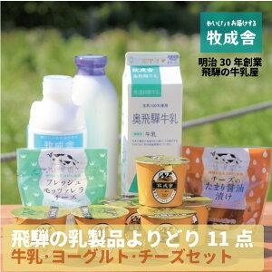 【ふるさと納税】<牧成舎>飛騨の牛乳屋、こだわり牛乳・ヨーグルト・チーズ乳製品よりどりセット 10000円 a567 10000円