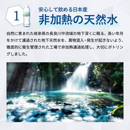 【ふるさと納税】ナチュラルミネラルウォーターピュアNAGARAS7-11