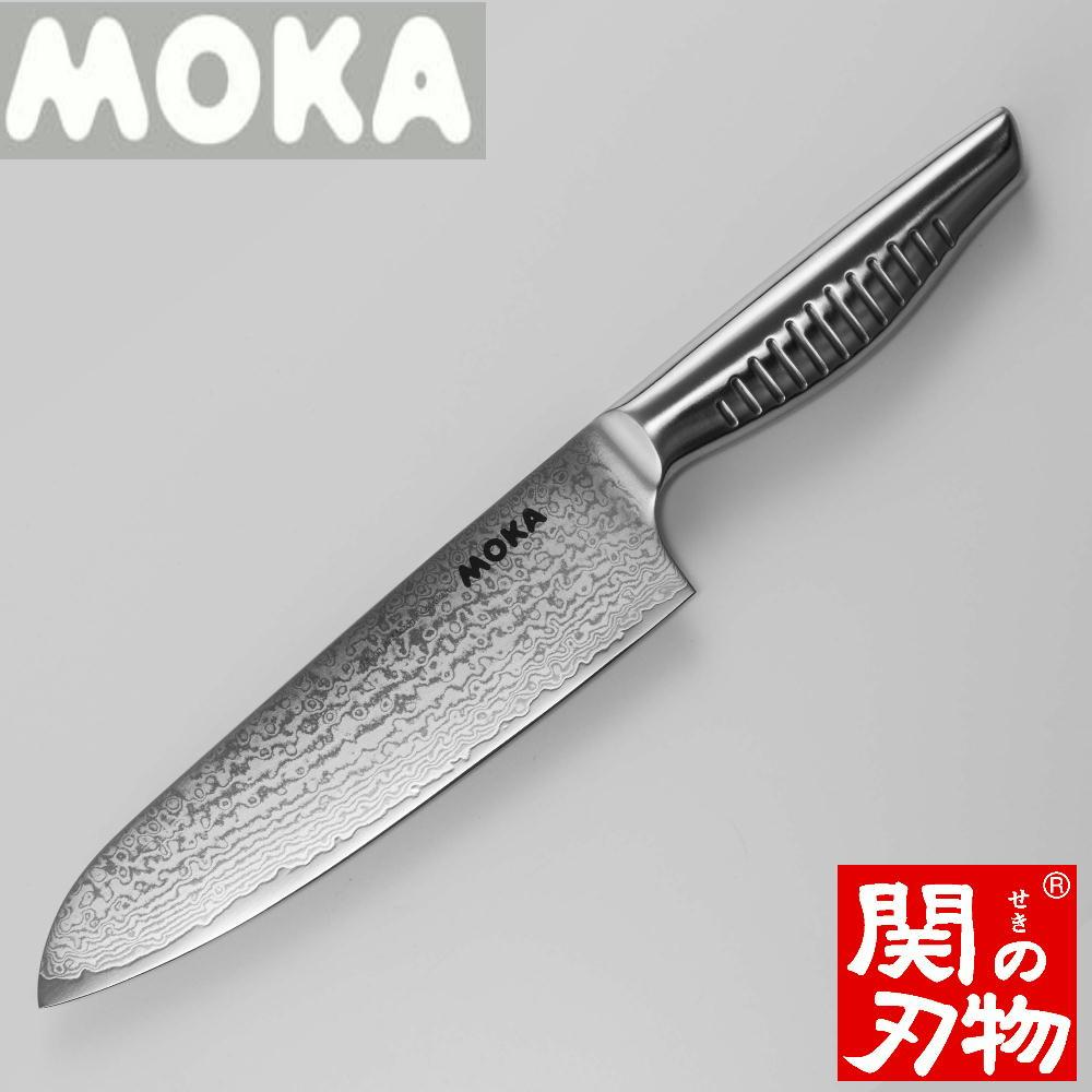 【ふるさと納税】H25-02 MOKA ダマスカス三徳包丁