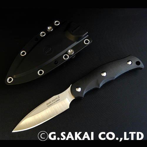【ふるさと納税】H25-30 サビナイフ2(サバキ3寸) ブラック