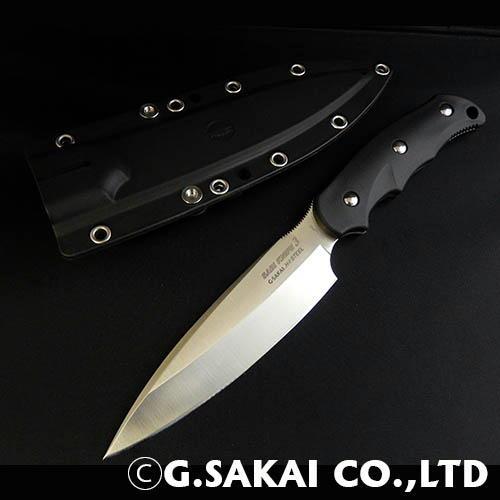 【ふるさと納税】H31-02 サビナイフ3(サバキ4寸5分) ブラック