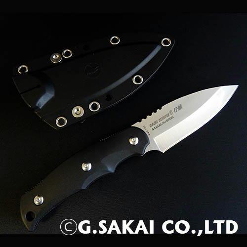 【ふるさと納税】H32-02 サビナイフ6 仔鯱 ブラック