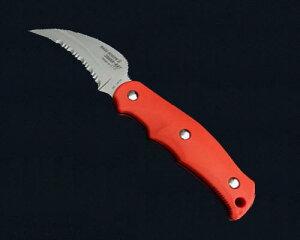 【ふるさと納税】サビナイフ9 SHARK-RAY(シャークレイ)(朱色) H34-09