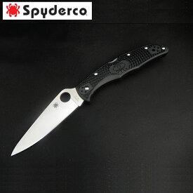 【ふるさと納税】【スパイダルコ】エンデューラ4 フルフラット ブラック(折りたたみナイフ) H40-06
