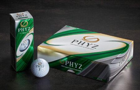 【ふるさと納税】PHYZファイズゴルフボールホワイト1ダースT25-01