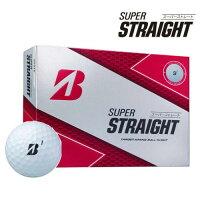 SUPERSTRAIGHTゴルフボールホワイト3ダースT30-01