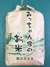 【ふるさと納税】ハツシモ(白米) 10kg(みっちゃん家のお米)