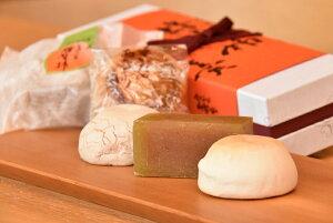 【ふるさと納税】M18S19 和菓子(蜂屋柿羊羹と焼き菓子)の詰め合わせ