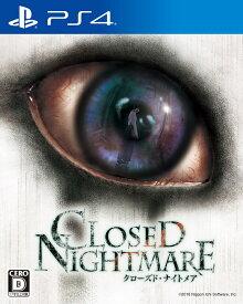 【ふるさと納税】 PS4 CLOSED NIGHTMARE / PlayStation 4 ゲームソフト