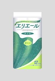 【ふるさと納税】エリエールトイレットティッシュー 12Rダブル(12ロール×6パック)