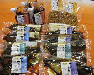 【ふるさと納税】No.164 日本料理の味シリーズ4 / 味噌 黒にんにく卵黄入り 万能みそ さばの煮付け 煮豆 甘露煮 岐阜県