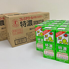 【ふるさと納税】キッコーマン 特濃調製豆乳3ケースセット 【飲料類】