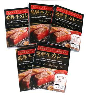 【ふるさと納税】【0015-0046】飛騨牛カレーA