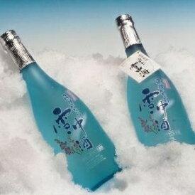 【ふるさと納税】〈期間限定〉飛騨かわい雪中酒 特別大吟醸しぼりたて生原酒720ml2本【C0046】